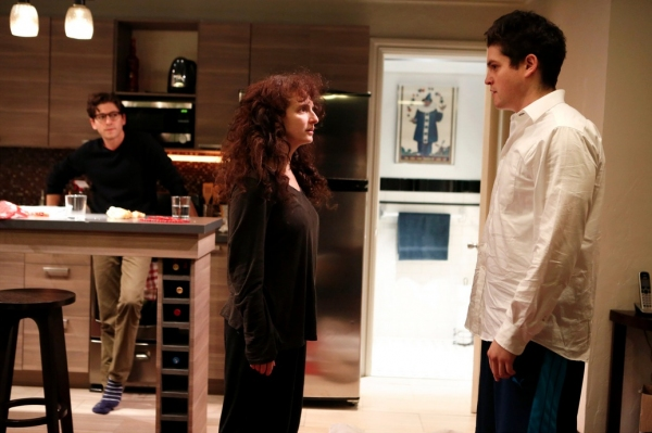 Michael Zegen, Tracee Chimo and Philip Ettinger at First Look at Joshua Harmon's BAD JEWS at Roundabout