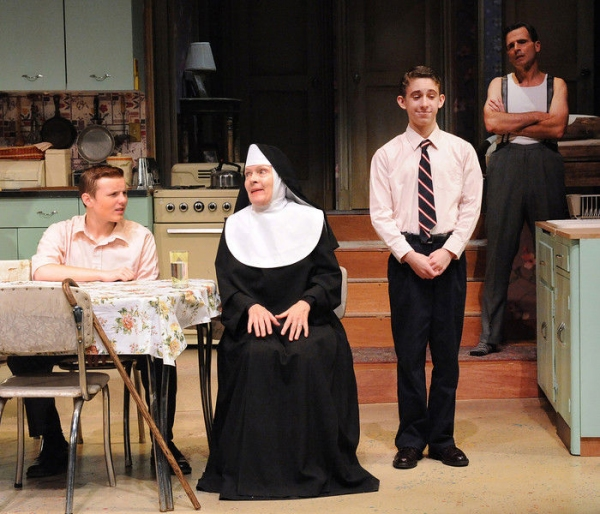 Photo Flash: First Look at Carol Shultz, Noah Chiet and More in Olney's OVER THE TAVERN
