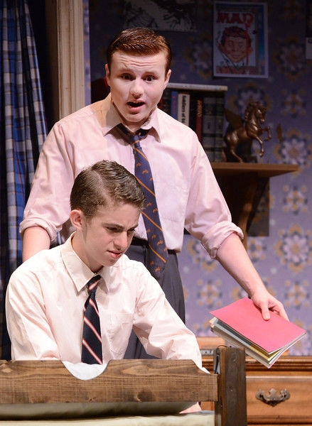 Connor Aikin and Noah Chiet at First Look at Carol Shultz, Noah Chiet and More in Olney's OVER THE TAVERN