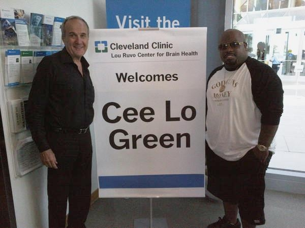 Cee Lo Green and Larry Ruvo  Photo