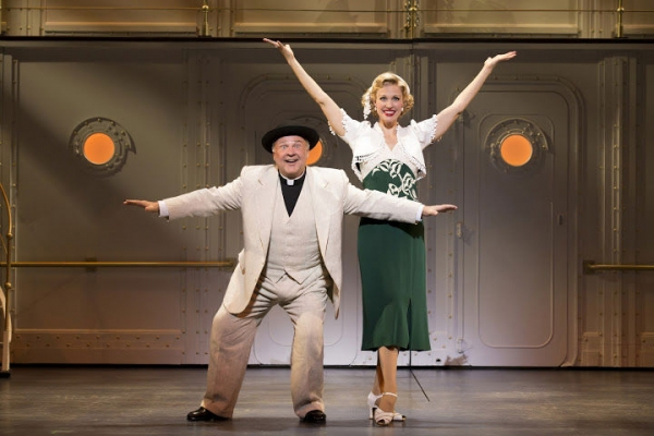 Fred Applegate and Rachel York at First Look at Rachel York, Fred Applegate, Erich Bergen and More in ANYTHING GOES National Tour