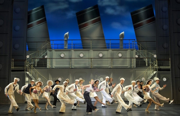 Rachel York and Company at First Look at Rachel York, Fred Applegate, Erich Bergen and More in ANYTHING GOES National Tour
