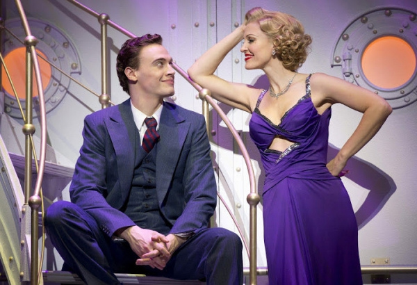 Erich Bergen and Rachel York