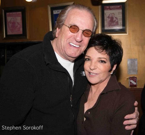 Danny Aiello & Liza Minnelli  at Liza Minnelli, Tony Danza Visit Nicholas King at the Iridium