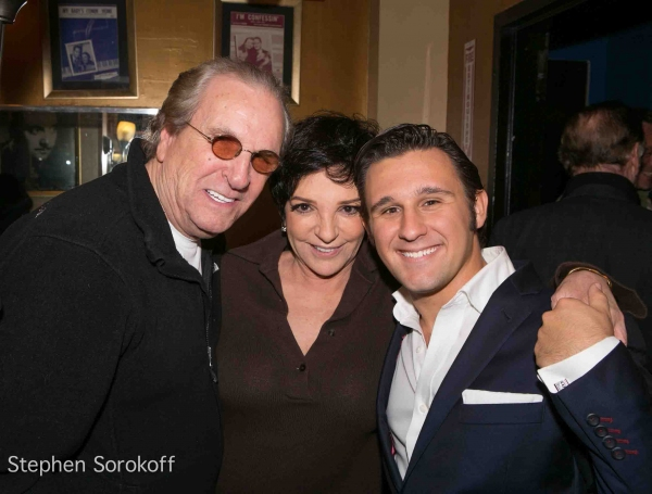 3 at Liza Minnelli, Tony Danza Visit Nicholas King at the Iridium