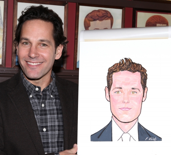 Photo Coverage: GRACE's Michael Shannon, Ed Asner and Paul Rudd Get Sardi's Caricatures!