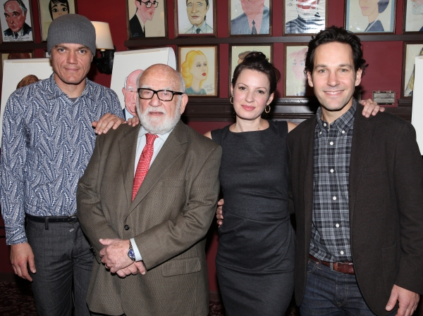 Michael Shannon, Ed Asner, Kate Arrington and Paul Rudd 