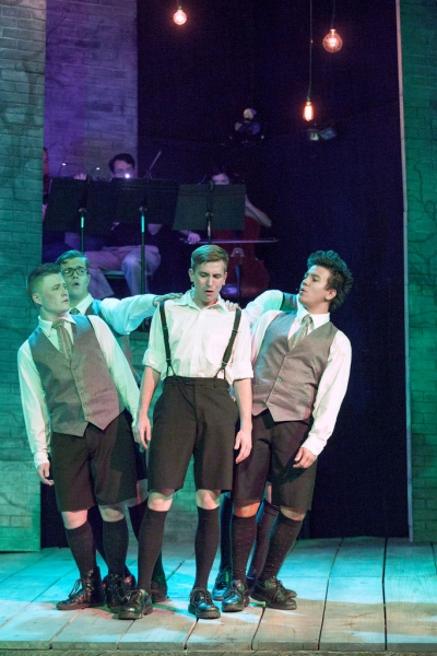 Photo Flash: First Look at Melissa Southmayd, Zach Wachter and More in Stray Dog's SPRING AWAKENING