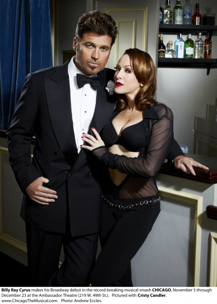 3 at First Look at Billy Ray Cyrus as CHICAGO's 'Billy Flynn'