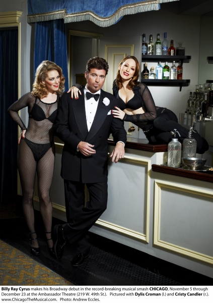 Billy Ray Cyrus, Dylis Croman and Cristy Candler 