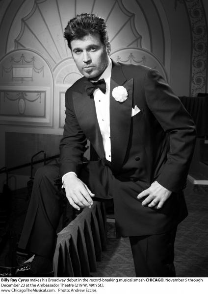 Billy Ray Cyrus  at First Look at Billy Ray Cyrus as CHICAGO's 'Billy Flynn'