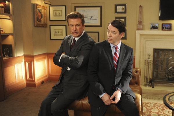First Look: Matthew Broderick Guest Stars on NBC's 30 ROCK Tonight, 10/11