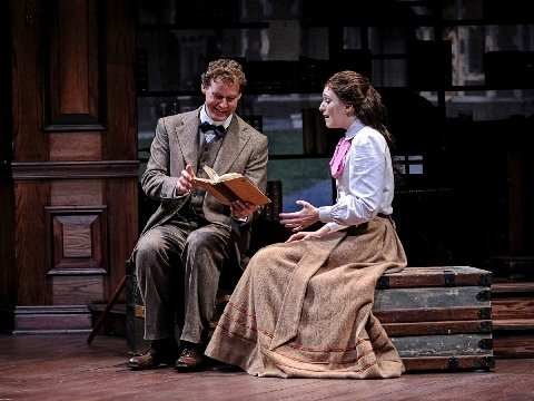 Photo Flash: First Look at Kevin Earley and Ephie Aardema in DADDY LONG LEGS