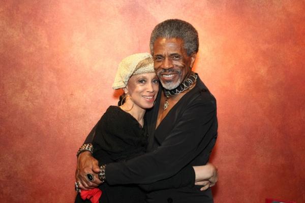Mercedes Ellington and Andre De Shields at Andre De Shields Plays Laurie Beechman