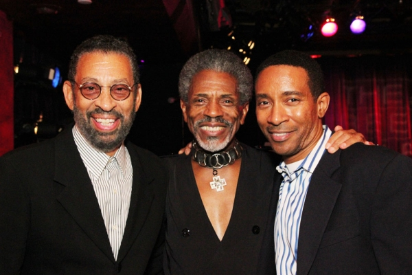 Maurice Hines, Andre De Shields, Charles Randolph Wright  at Andre De Shields Plays Laurie Beechman
