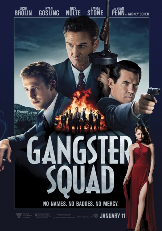 High Res Poster Art for GANGSTER SQUAD