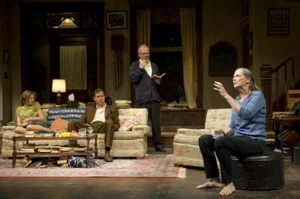 Carrie Coon, Madison Dirks, Tracy Letts and Amy Morton at First Look at WHO'S AFRAID OF VIRGINIA WOOLF?- Production Shots