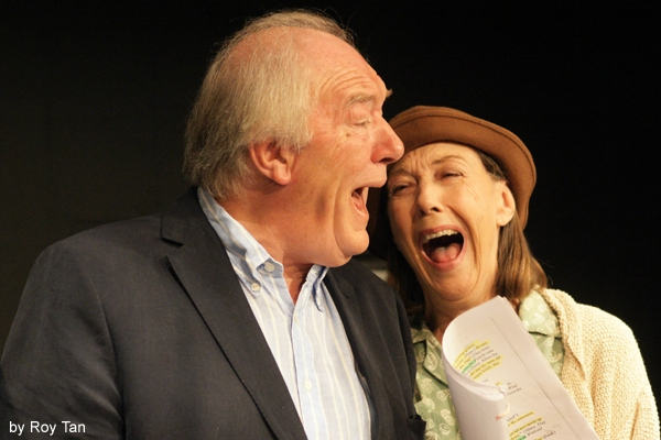 Michael Gambon and Eileen Atkins