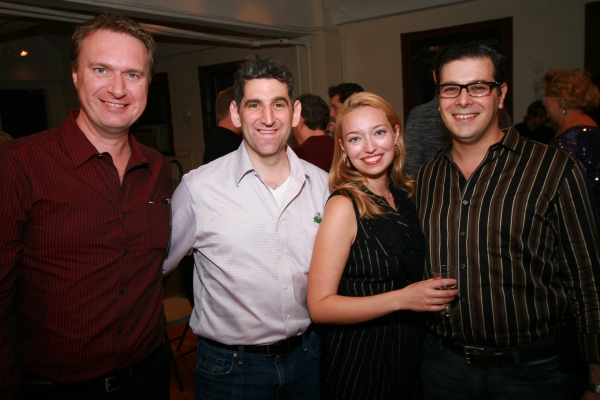 Matt Castle, Doug Shapiro, Christy Faber, and Frank Galgano Photo