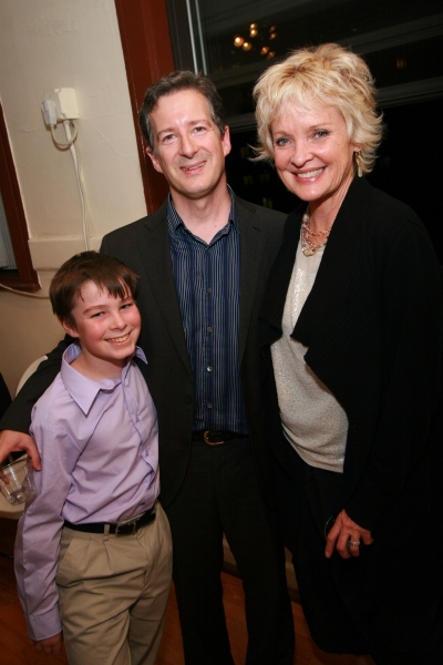 Julian Snyder, David Snyder, and Christine Ebersole 