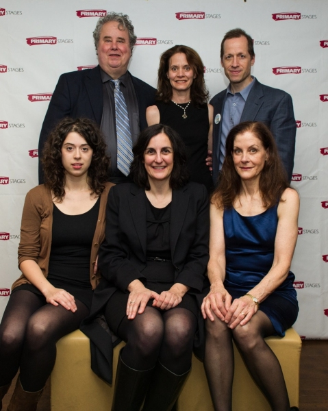 ADAM LEFEVRE, playwright DAISY FOOTE, TIM HOPPER, HALLIE FOOTE, director EVAN YIONOULIS, ADINA VERSON