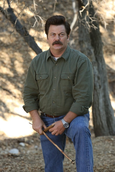 NICK OFFERMAN at First Look at PARKS AND REC's Upcoming Episode, 'SEX EDUCATION,' Airs 10/18
