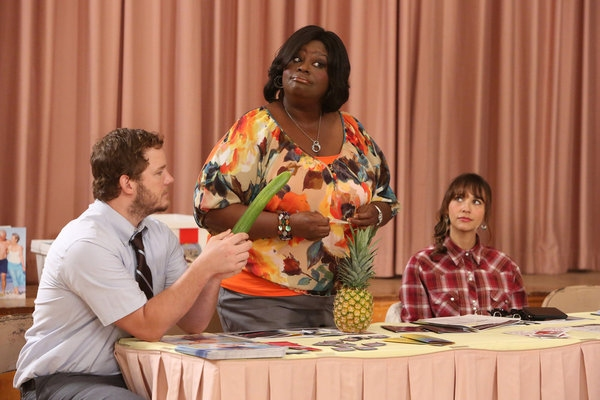 CHRIS PRATT, RETTA, RASHIDA JONES at First Look at PARKS AND REC's Upcoming Episode, 'SEX EDUCATION,' Airs 10/18