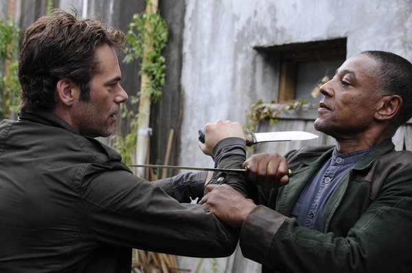 Billy Burke, Giancarlo Esposito at First Look at REVOLUTION's Upcoming Episode, 'SOUL TRAIN,' Airs 10/15