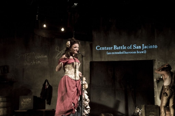 Photo Flash: Fordham's CENTAUR BATTLE OF SAN JACINTO, Now Thru 10/12