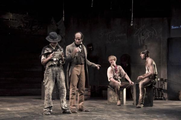 The Fordham College Theater Program at Lincoln Center presents CENTAUR BATTLE OF SAN  Photo