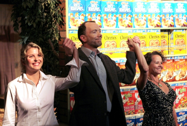 Anna Stromberg, Mike O'Neil and Michelle Gagliano
