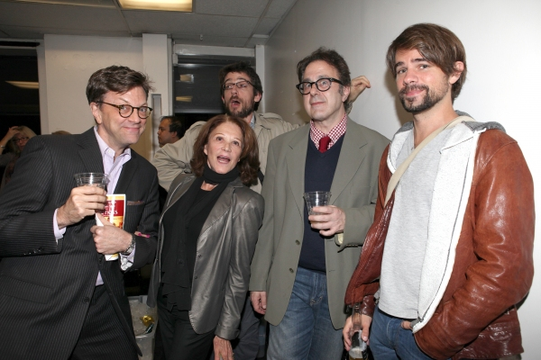 Jim Caruso, Linda Lavin, Nicky Silver and guests at Inside Opening Night of POSITIONS