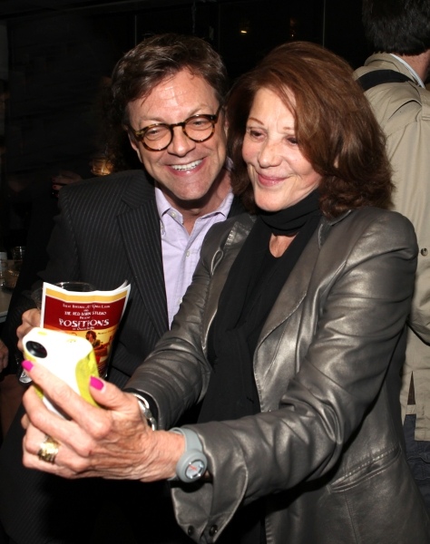 Jim Caruso and Linda Lavin at Inside Opening Night of POSITIONS