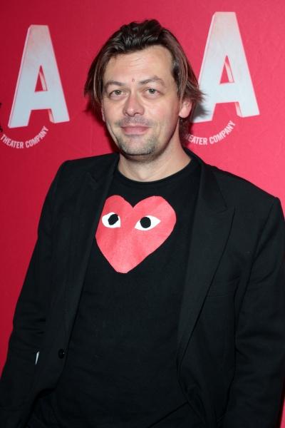 Simon Stephens at Inside Opening Night of Atlantic Theater Company's HARPER REGAN