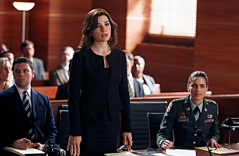 Julianna Margulies at Dennehy, Ricci Among Guest Stars on CBS's THE GOOD WIFE