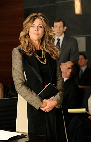 Rita Wilson at Dennehy, Ricci Among Guest Stars on CBS's THE GOOD WIFE