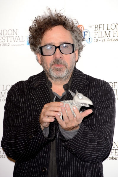 Photo Flash: Tim Burton & Cast of FRANKENWEENIE Open BFI London Film Festival