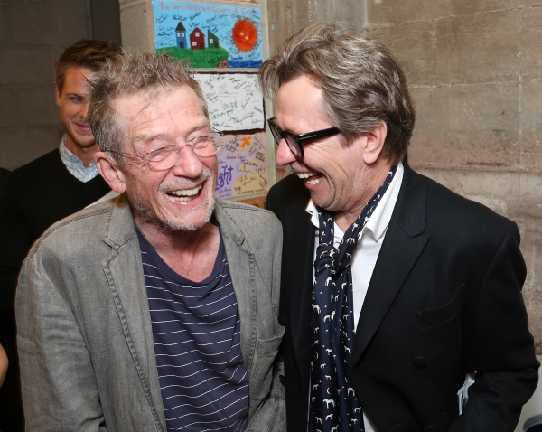 Photo Flash: John Hurt, Gary Oldman, Peter Asher and More at KRAPP'S LAST TAPE's Opening in LA!