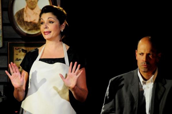Paulette Oliva and Arthur Aulisi