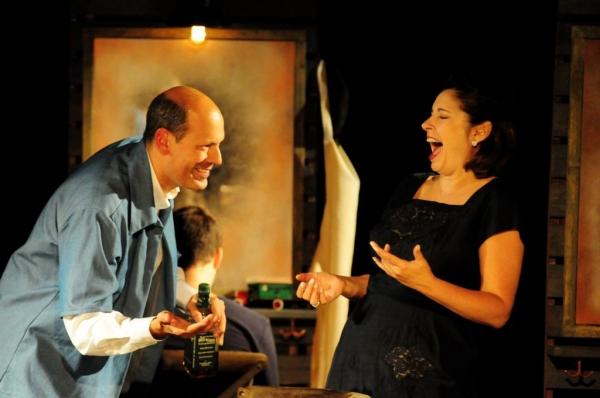 Arthur Aulisi and Paulette Oliva