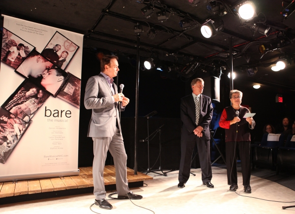 Paul Boskind, Brent Childers and Roberta Sklar at BARE Cast Celebrates National Coming Out Day!