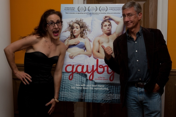 """Former """"Silence!"""" co-stars Jenn Harris and David Garrison at Jenn Harris, Matthew Wilkas and More at Premiere of GAYBY"""