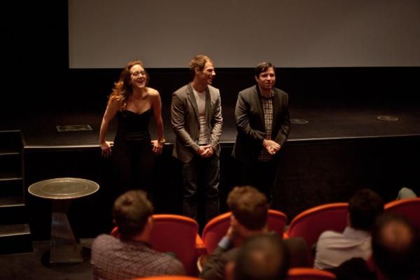 Jenn Harris, Matthew Wilkas and Jonathan Lisecki