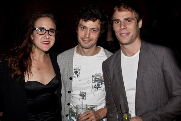 Jenn Harris, Christian Coulson and Matthew Wilkas