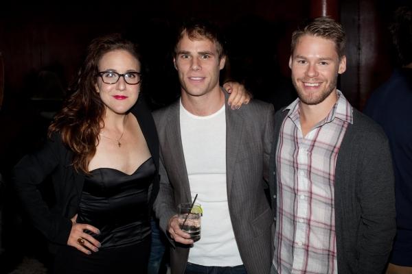 Jenn Harris, Matthew Wilkas and Randy Harrison