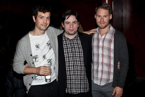 Christian Coulson, Jonathan Lisecki and Randy Harrison