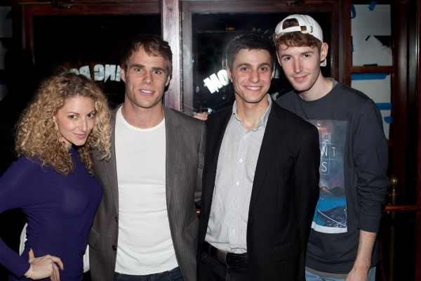 Lauren Molina, Matthew Wilkas, Gideon Glick, Blake Daniel at Jenn Harris, Matthew Wilkas and More at Premiere of GAYBY