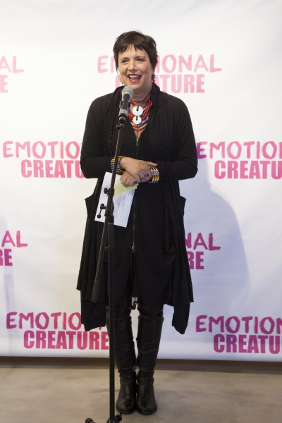 Photo Coverage: Cast of EMOTIONAL CREATURE Meets The Press!