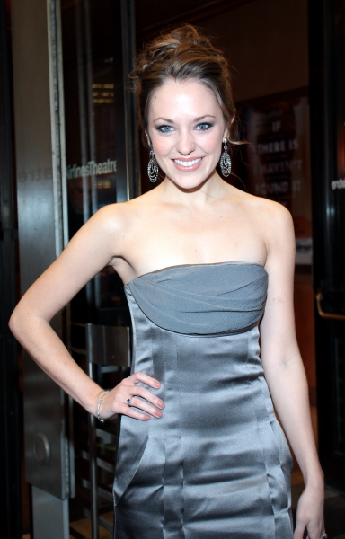 Laura Osnes at CYRANO DE BERGERAC Opening Night Red Carpet!