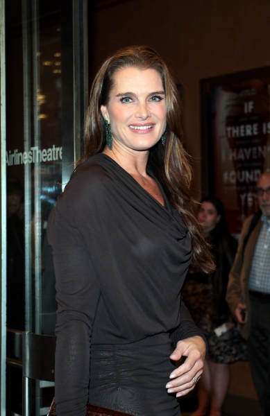 Brooke Shields at CYRANO DE BERGERAC Opening Night Red Carpet!